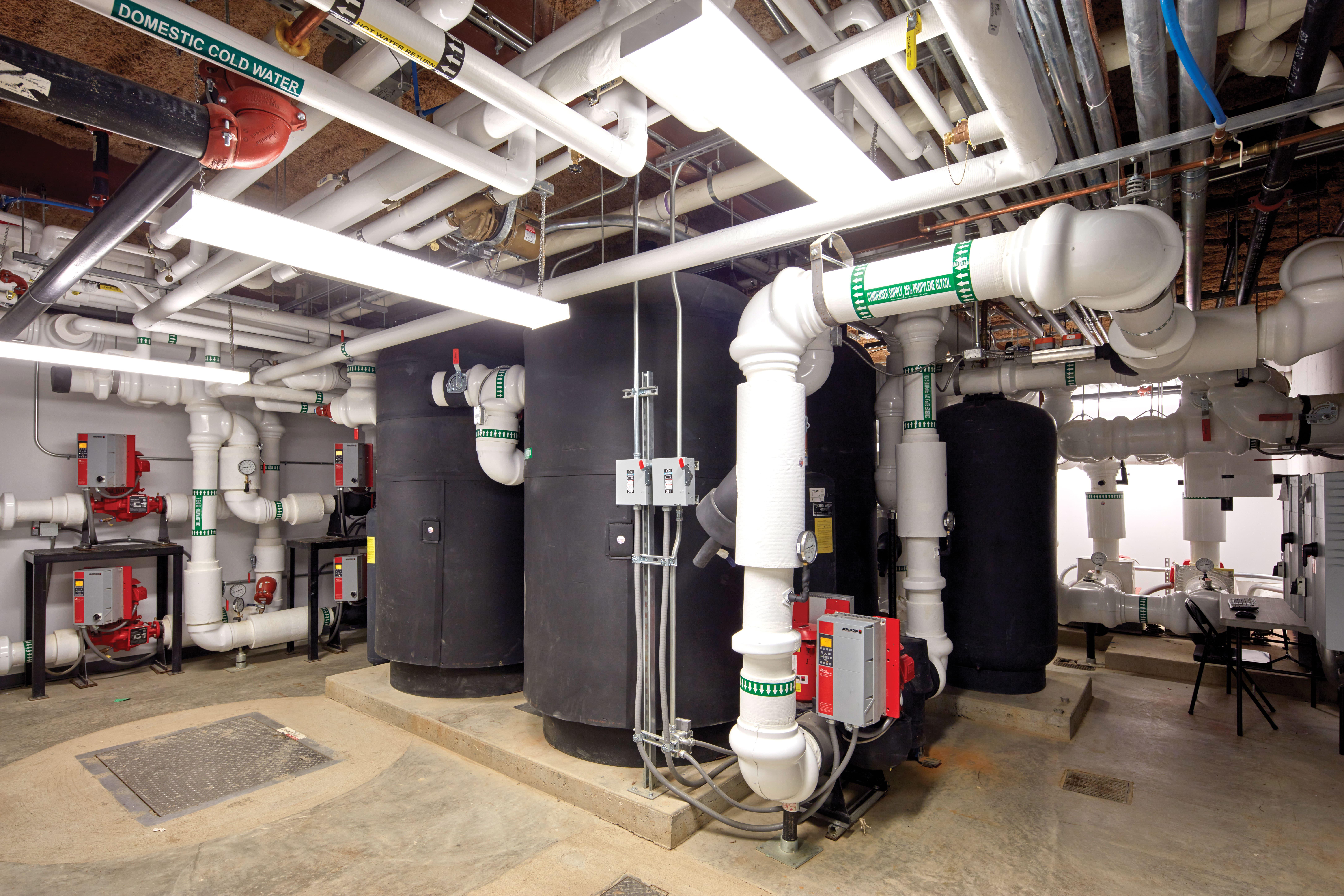 Messana Radiant Cooling, Chatham University, hydronic radiant cooling panels