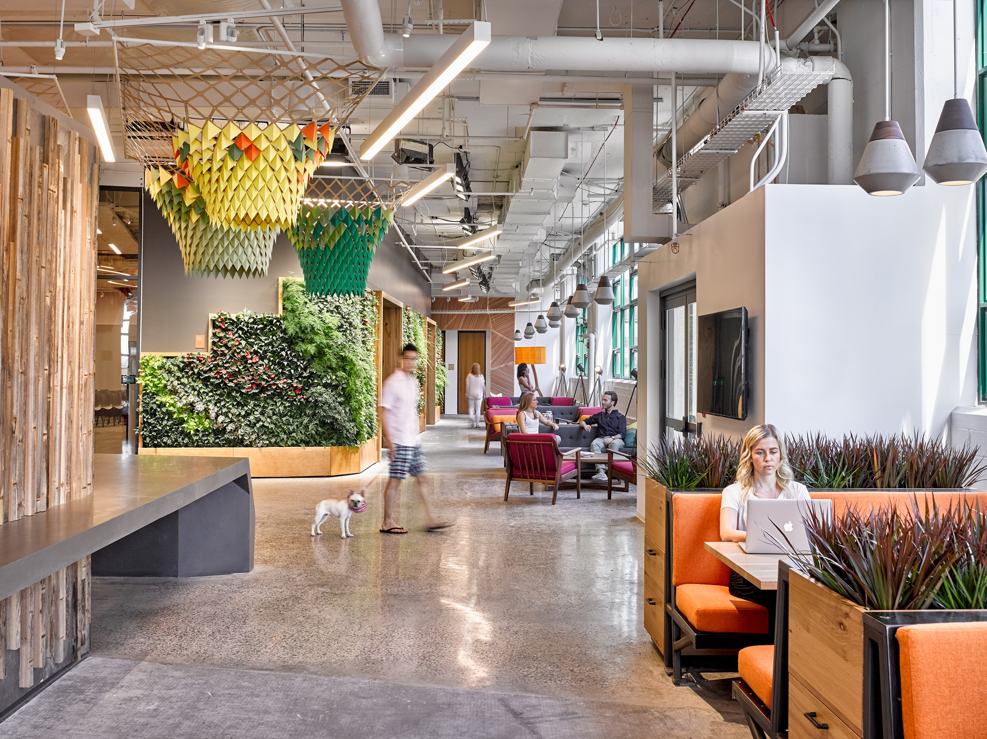 Etsy Crafts A Better Workplace To Meet The Living Building Challenge Gb D