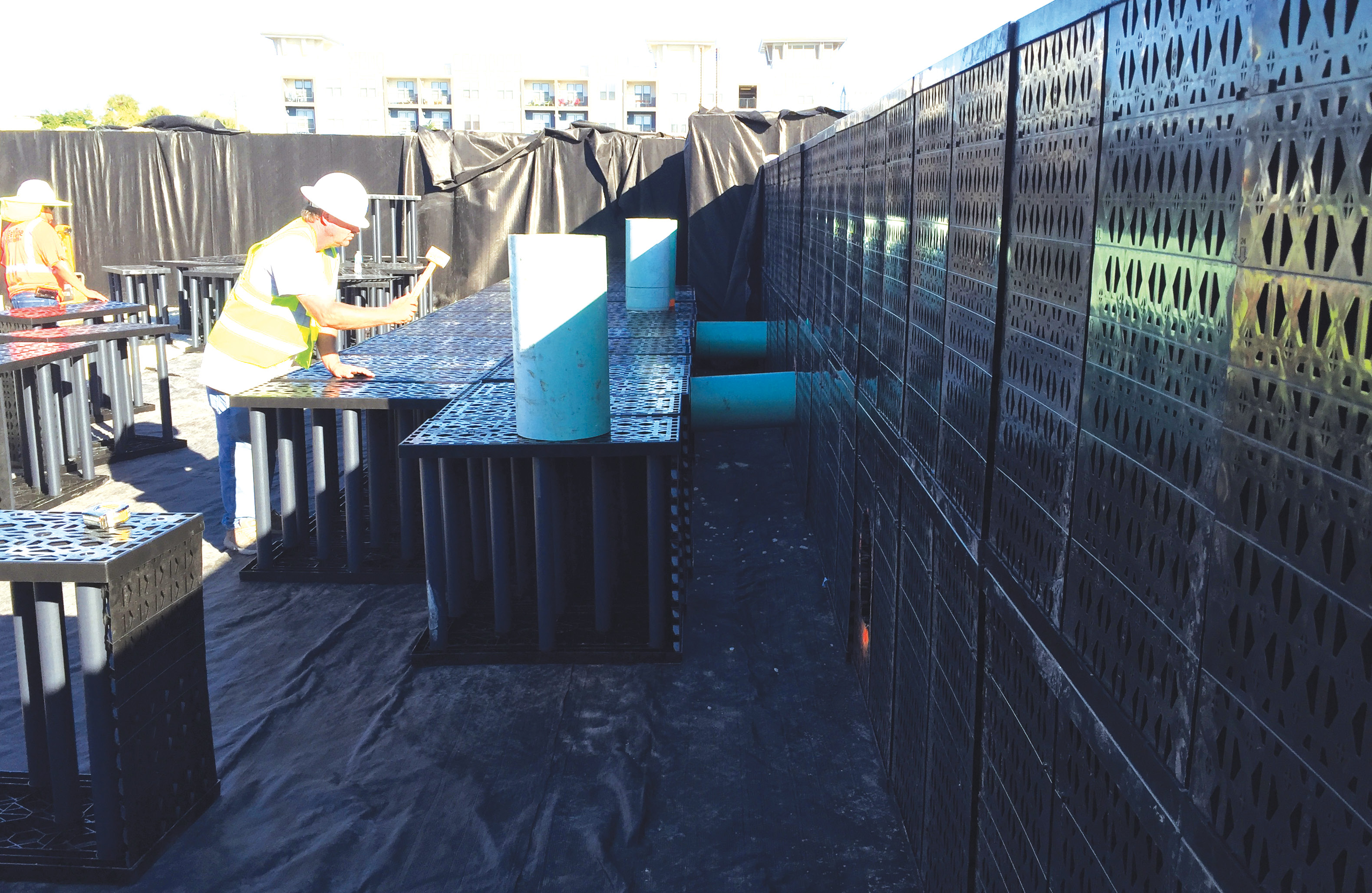 Stormwater Management construction site Brentwood