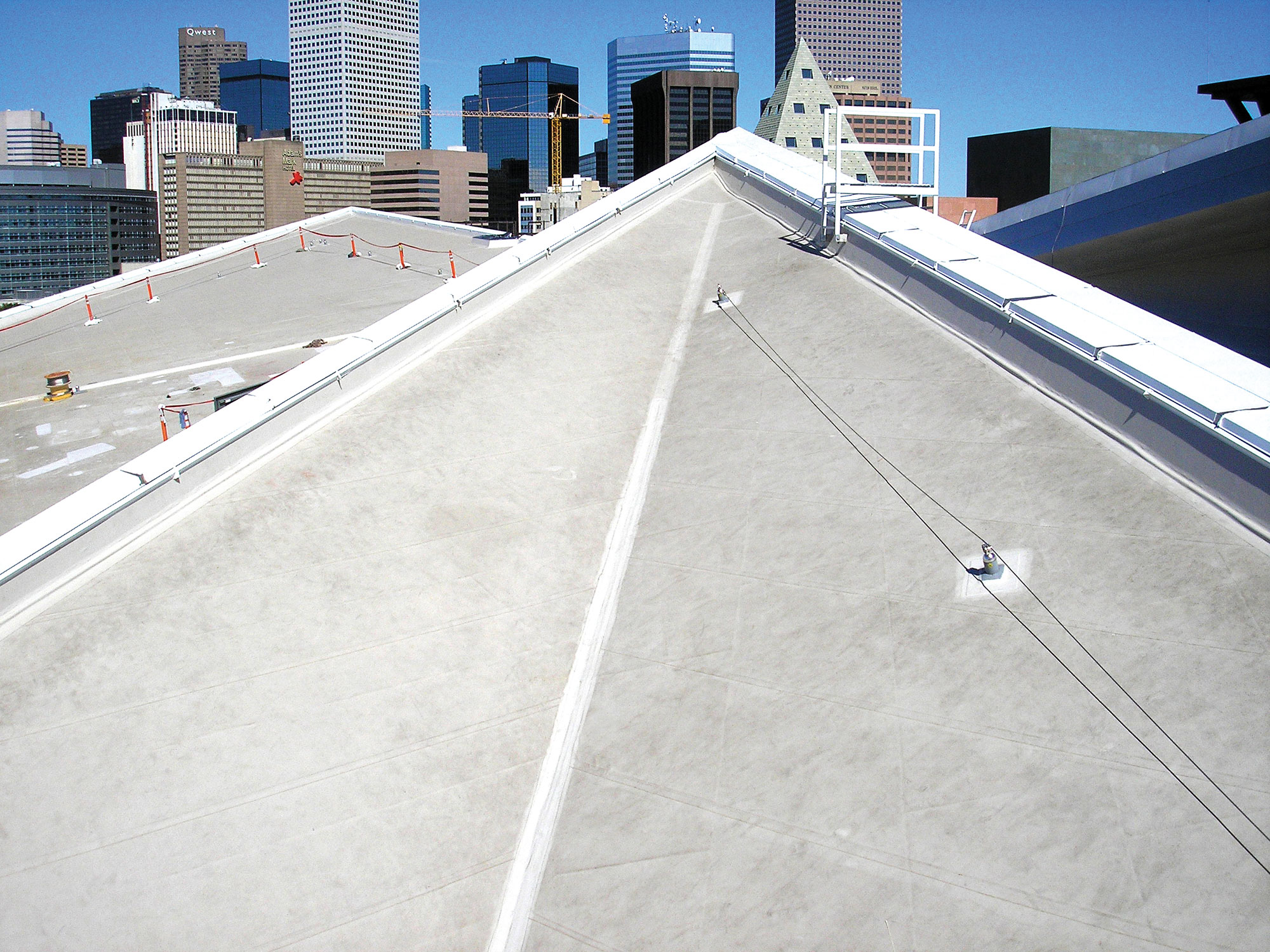 Denver Art Museum roof membrane roofing