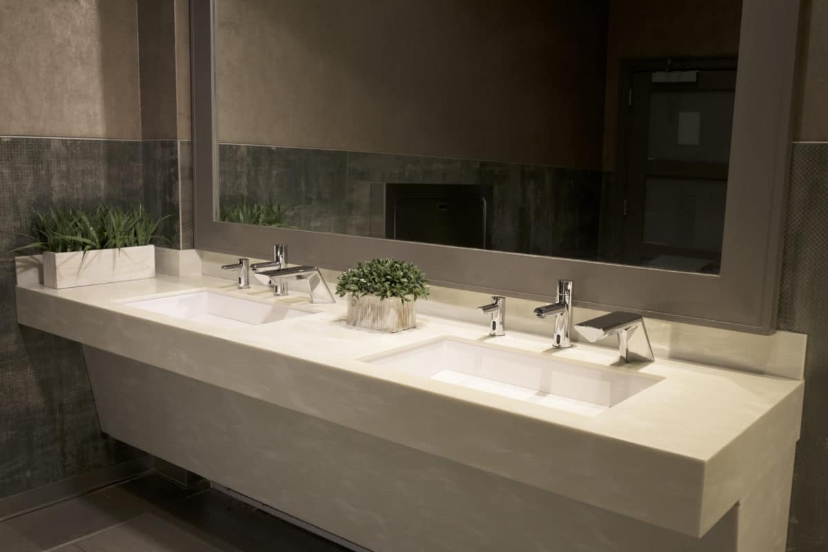 This Integrated Sink System is the Future of Green Restroom Design