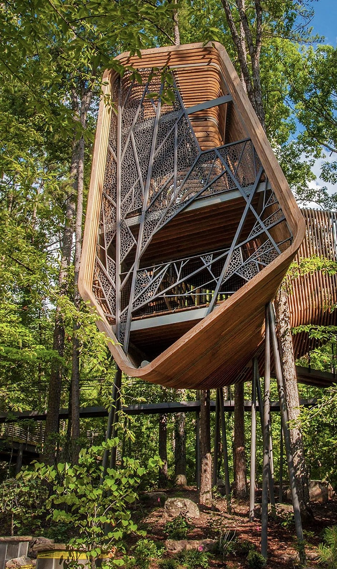 Wood Haven treehouse