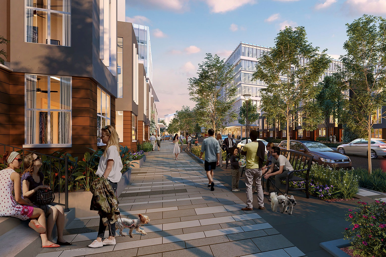 Design for Walkability Makes Cities Healthy and Friendly