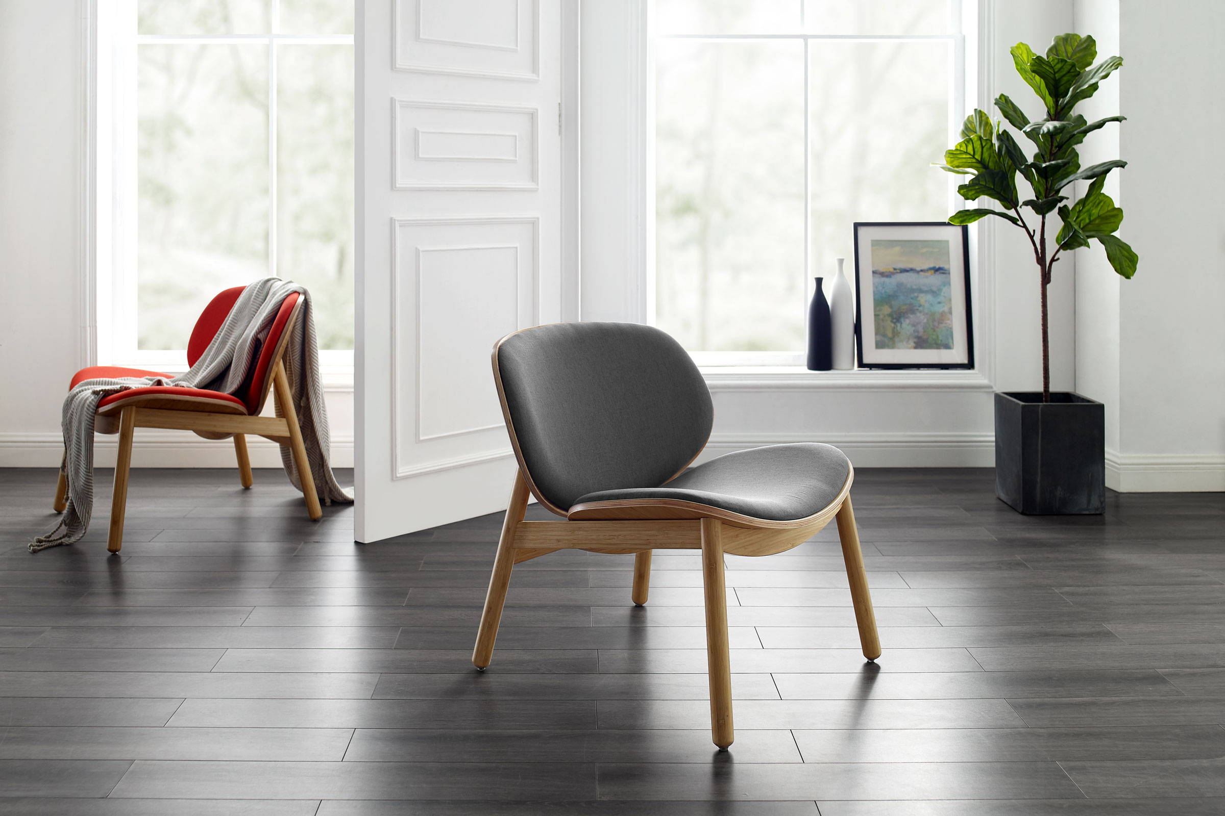 Greenington Bamboo Chair Combines Modern Mid-Century Design with Sustainability