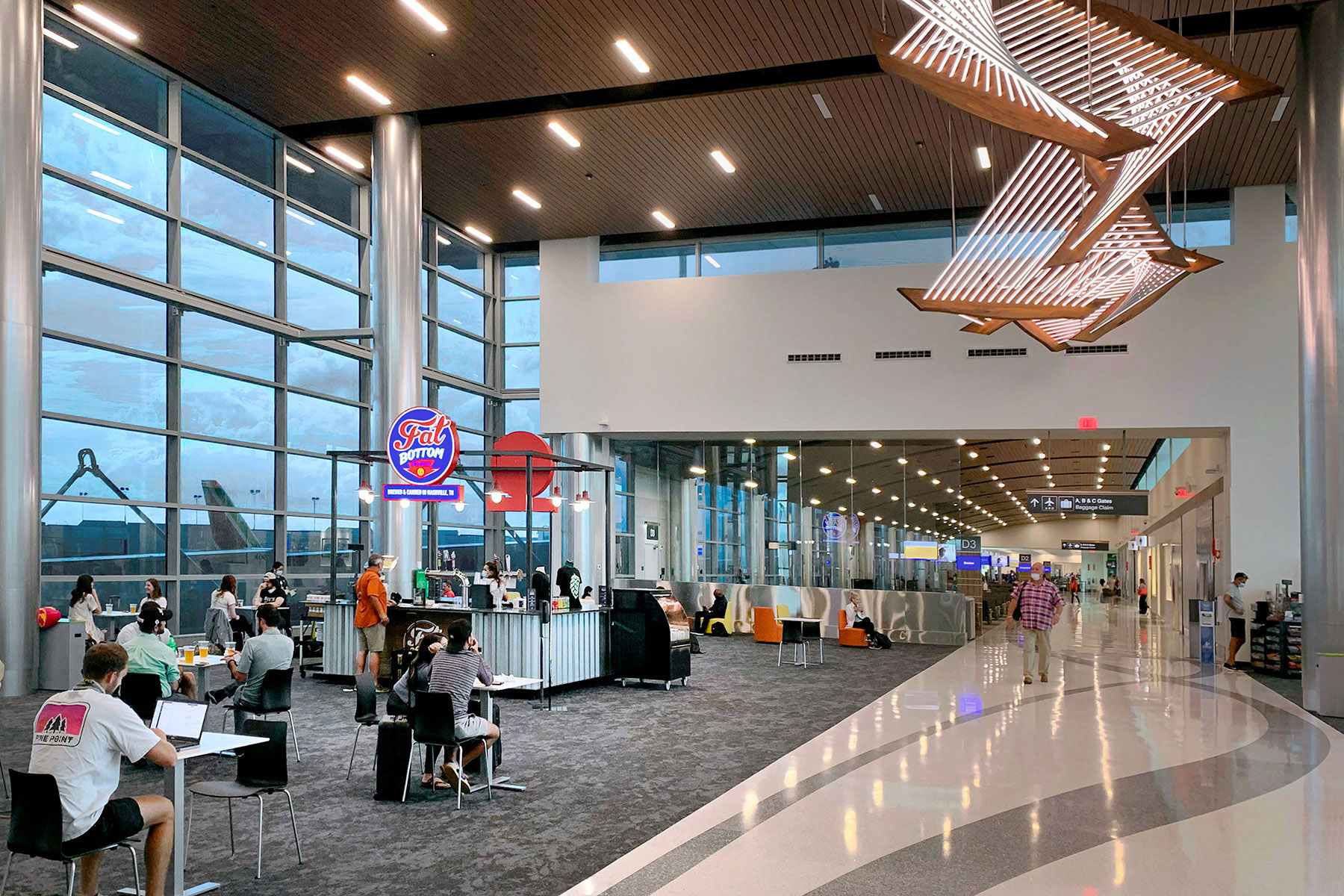 Sustainable Design Takes Flight at Nashville International Airport's New Concourse D