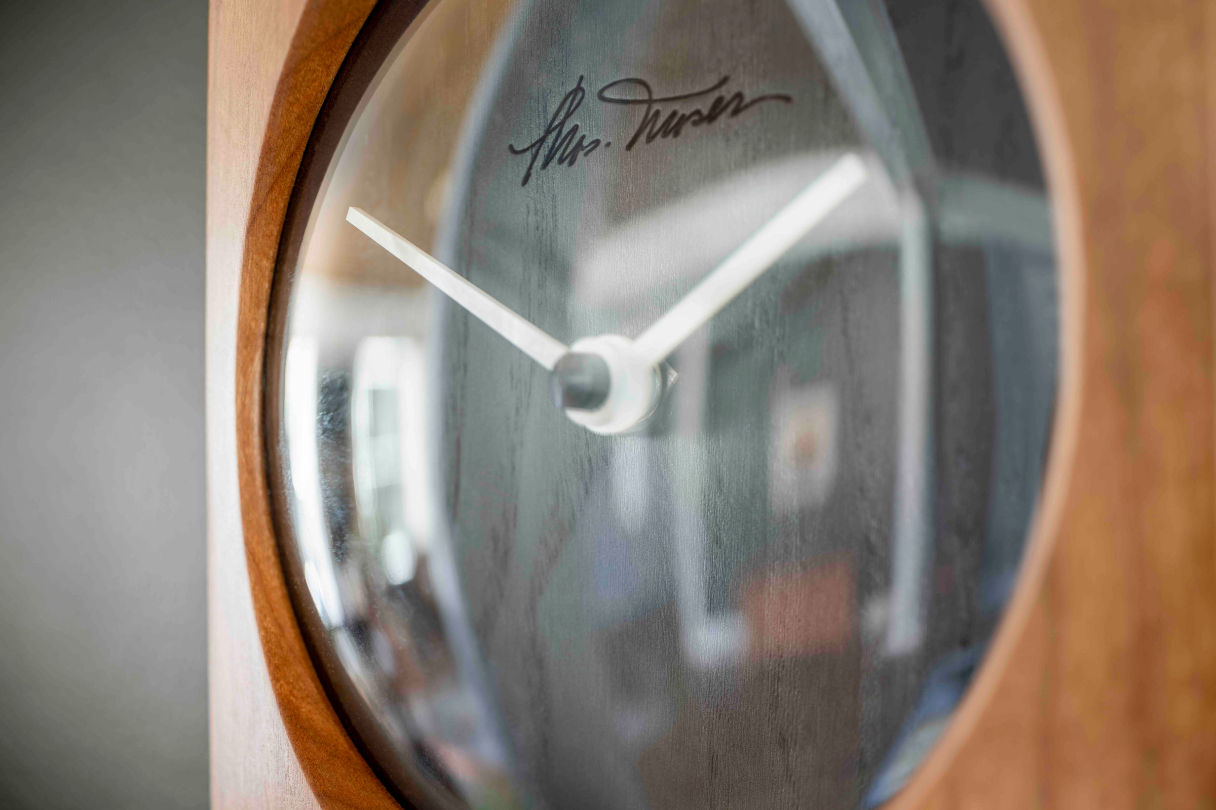 Thos. Moser Omni Clock is a New Take on Shaker Design