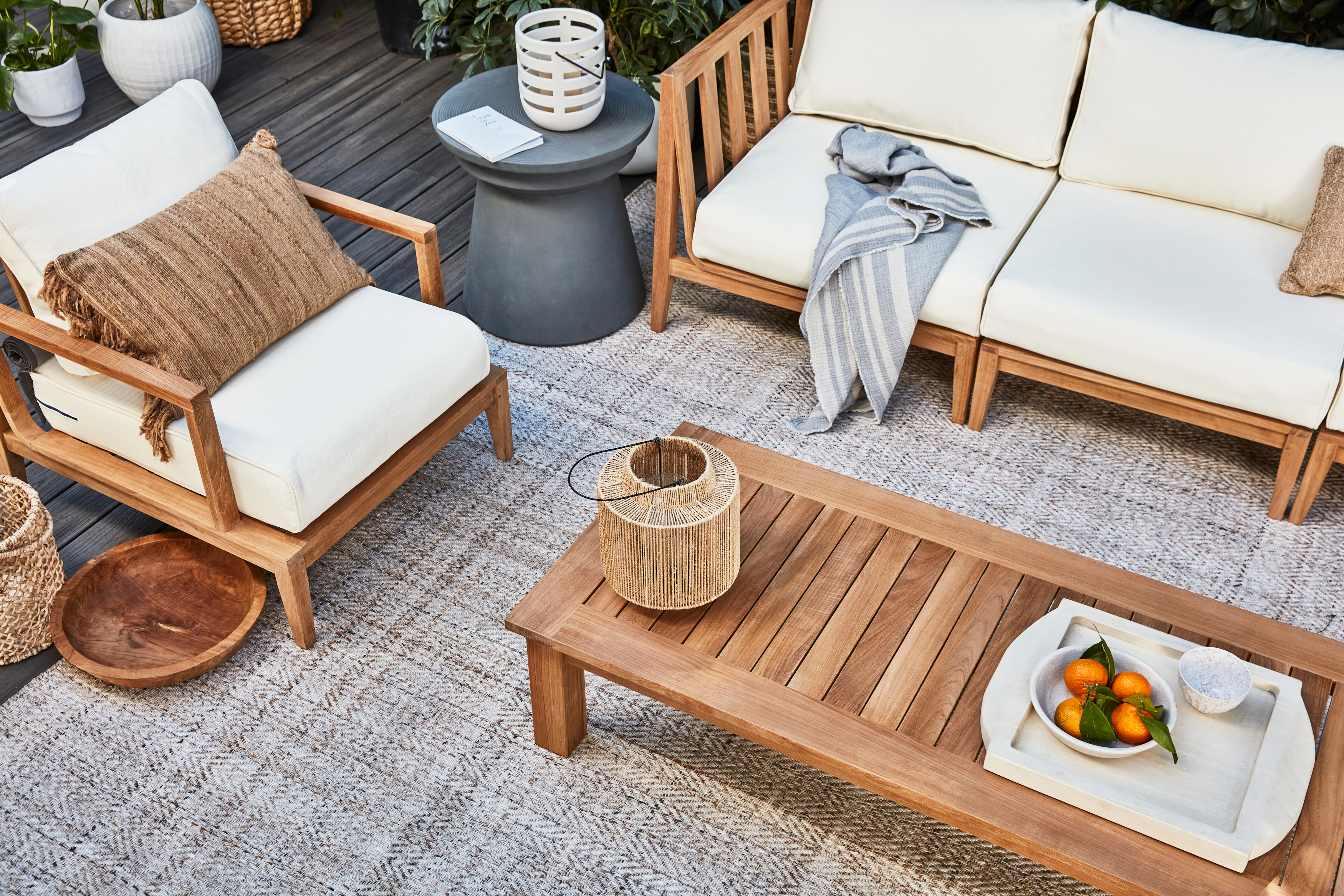 outer teak collection